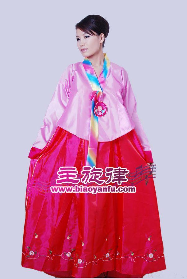 HK-011韩服粉红