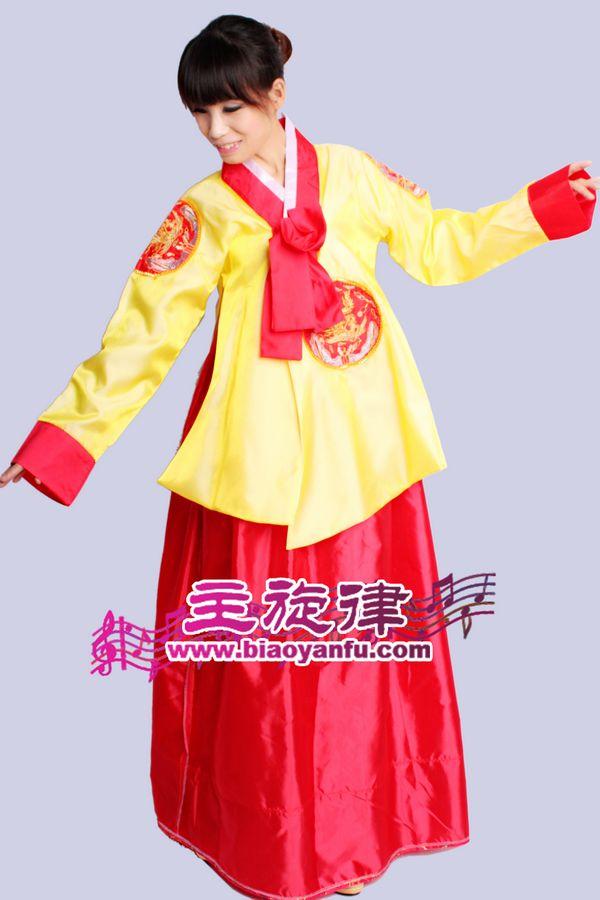HK-016韩服黄红色