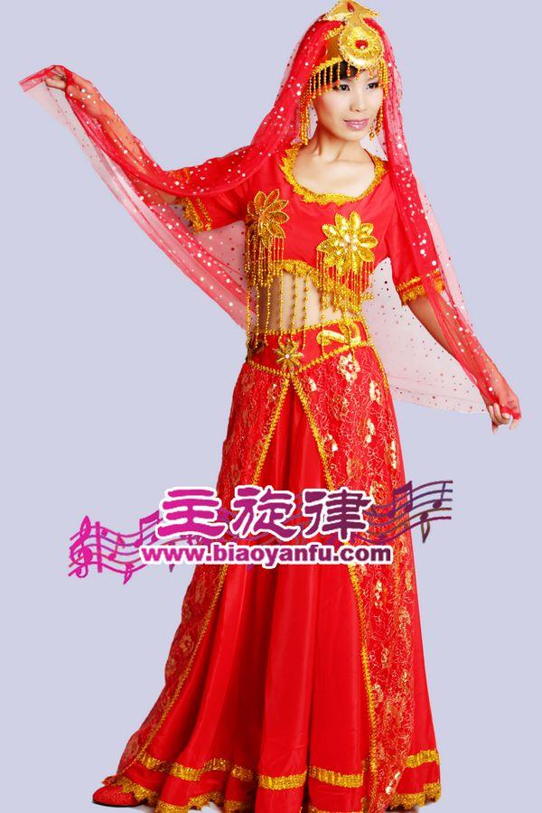 HK-018印度盛装红色