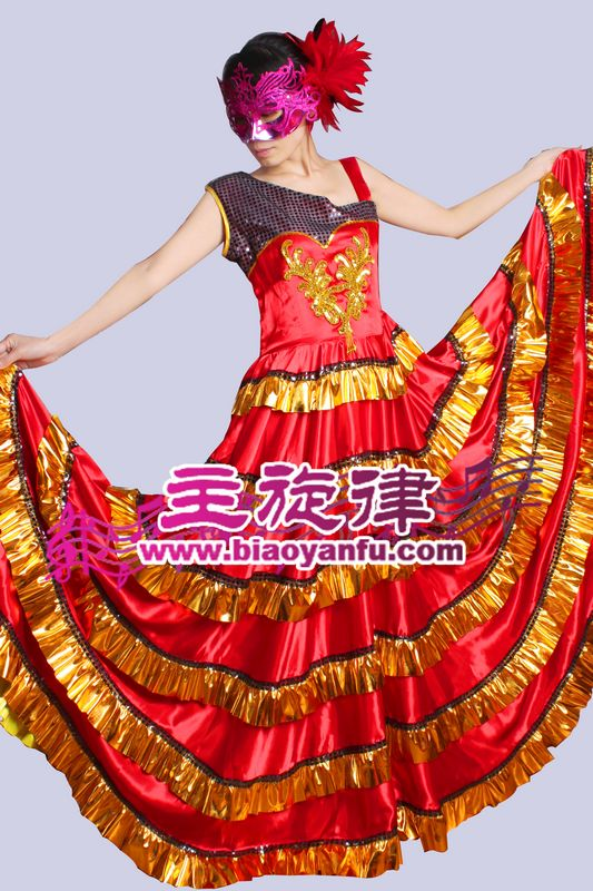 Y-010西班牙大摆裙