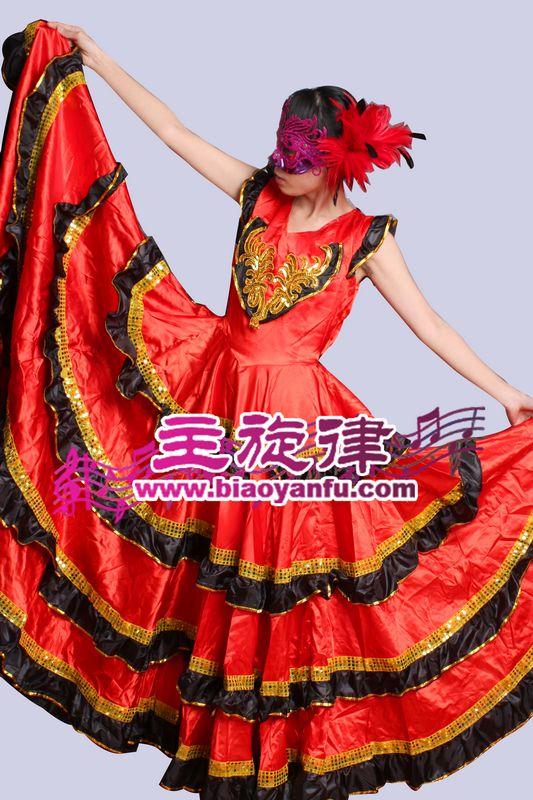 Y-011西班牙超级大摆裙