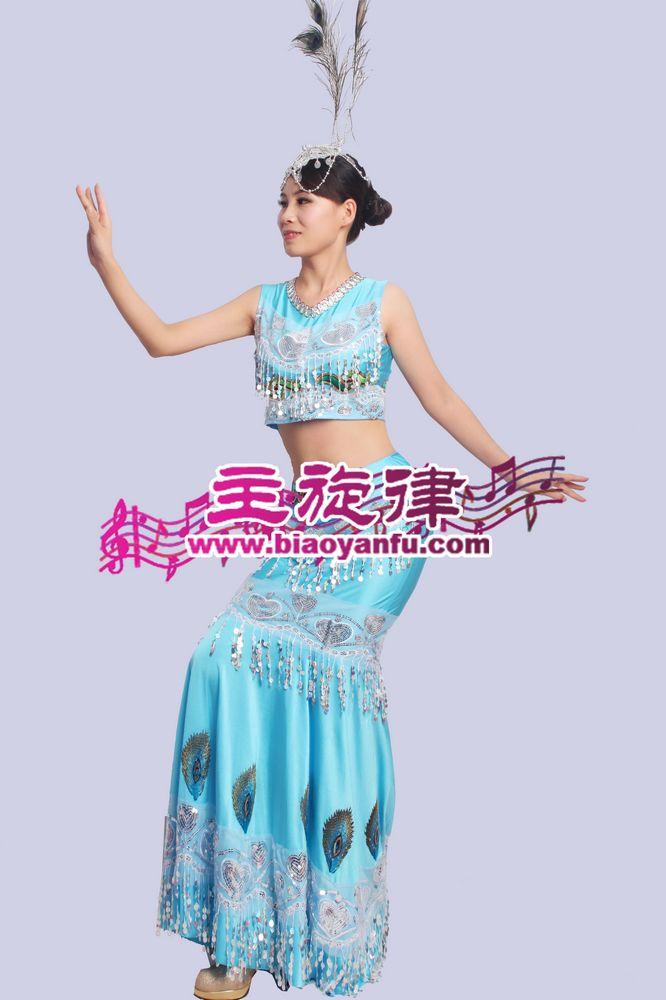 MM-014高档傣族蓝