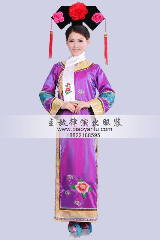 gn-087清朝宫廷装妃子紫