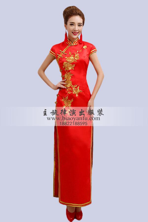 皇后旗袍设计图