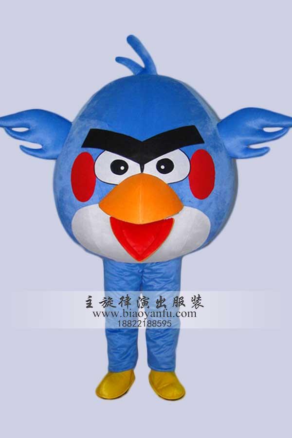 新款愤怒的小鸟( 蓝)