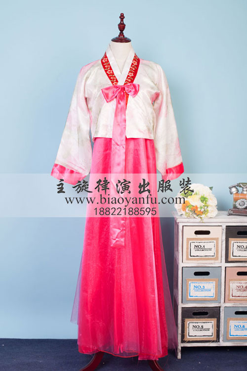 HK-024韩服蕾丝粉