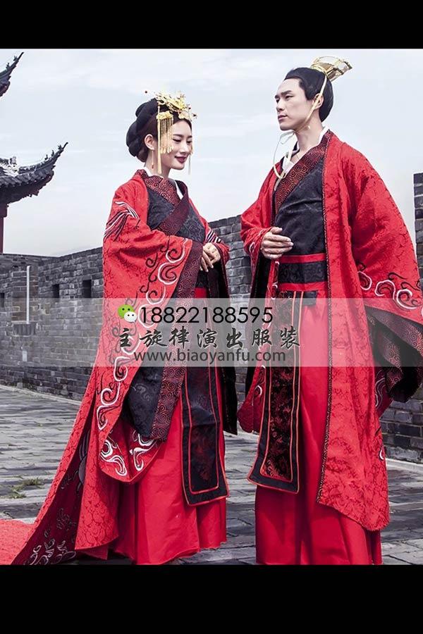 GN-200高档结婚汉服黑红