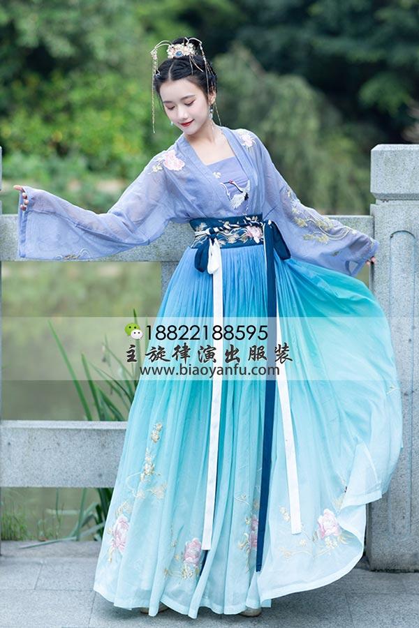 GN-215襦裙蓝