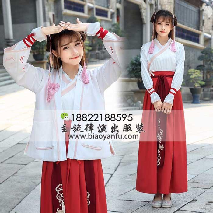 G-054酒红儒裙