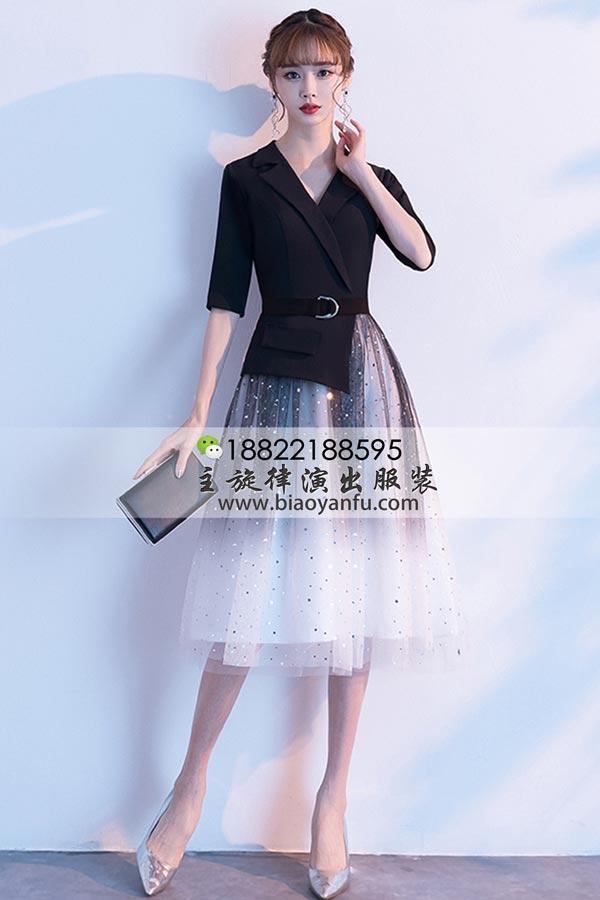 短礼服199黑过渡色