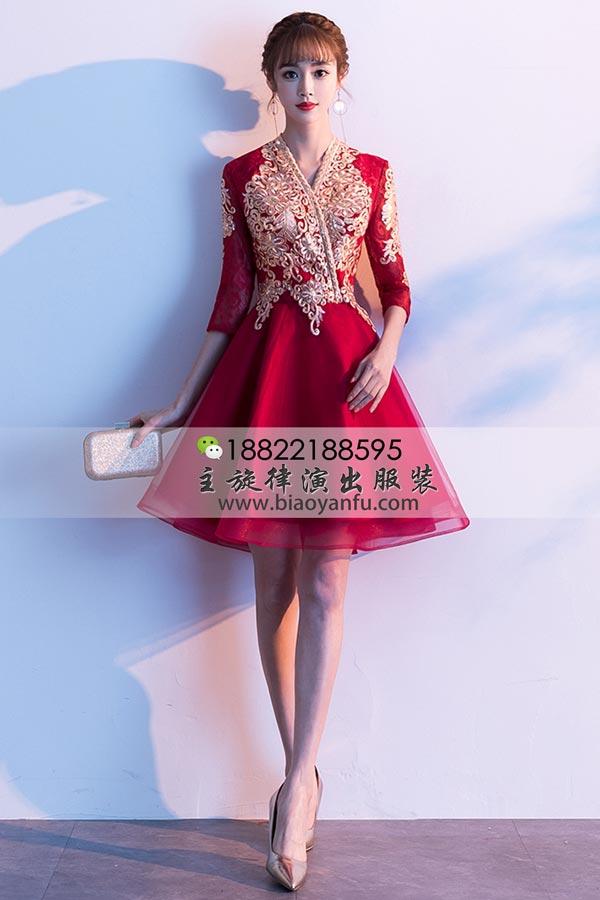 短礼服200红纱