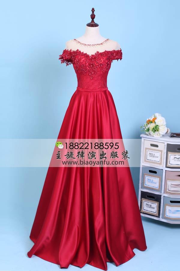 Ld-692酒红花纹